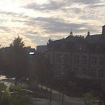 Blick in die Altstadt von Waren.