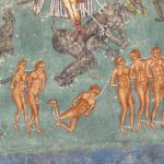 "Image from ""The Last Judgement"" Painting on Voronet Monastery"