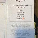 Coffee & non-existant smoothies