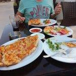 Türkische Pizza / Hähnchen