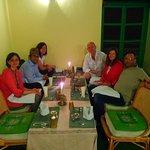 Farewall dinner in Kathmandu