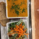 Soup and salad $9