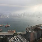 View of HKG Harbour, from the room