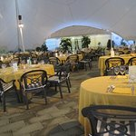 table layout event tent