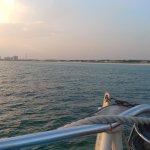 On board the Island time catamaran