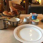 Frühstück ist sehr basic