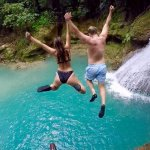 Blue Hole and Waterfalls