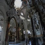 Interior of Cathedral Toledo Spain.