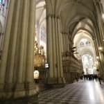 Interior of Cathedral Toledo, Spain.