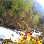 On the trail - Skagway River