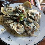 These were the best Oysters Rockefeller I've ever eaten