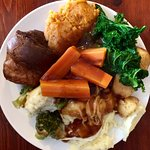 Vegetarian Sunday carvery