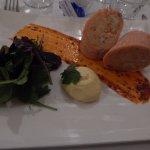 Ballottine saumon écrevisses