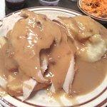 Open Faced Turkey Sandwich, Harry's Hofbrau, San Leandro, CA