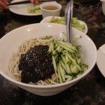zha jiang noodle!