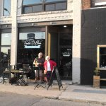Vanilla Bean provides live jazz music Friday nights, outside weather permitting or inside.