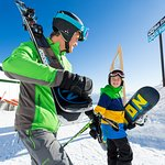 Ski or snowboard, Snowbasin is great for everyone
