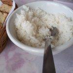 arroz de acompanhamento