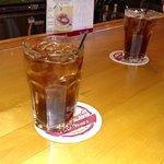 Prop's Bar & Grill - Long Lake - Sarona WI - Million $ View - Jack & Coke