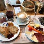 Perfektes Frühstück (und das war nur der Anfang, Eierspeisen à gogo und Müesli à discretion folg