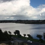 View of Lough Atalia from the room.Lough Atalia is a shallow lake in Galway city centre.
