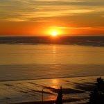 Imperdible ver el amanecer desde el balcón!