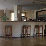 Hotel bar in Reception area