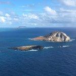 smaller islands nearby