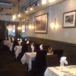 Tables in the restorante.