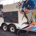 Food Truck, Order and Pick Up Windows to Left
