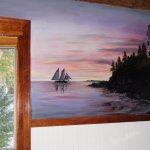 Mural of Bass Harbor Light