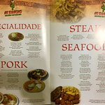 Mi Rancho Menu - Richland Ave Branch