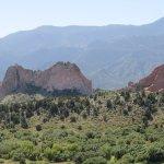 Garden of the Gods from the Mesa Overlook