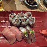 Toro, Aji and a roll