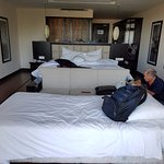 """""""premium suite"""" is much smaller than what's shown on hotel website"""