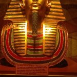 King Tut Death Mask from the Gold House Wadsworth IL