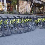There are bikes all over Whistler just waiting for you.