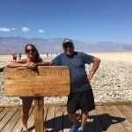 Arriving at Badwater