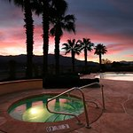 Beautiful Spa with view at Holiday Inn Express Cathedral City