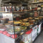 local food outlets offer many choices - yummy!
