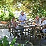 Alfresco dining Captains Retreat