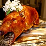 Whole Roast Pig for a private event