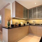 Kitchen in two-bedroom executive