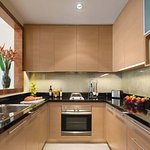 Kitchen in one-bedroom executive
