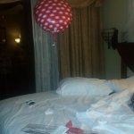 Birthday rose and balloon