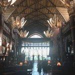 Amazing lobby.