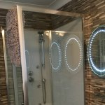 Twin basins and shower