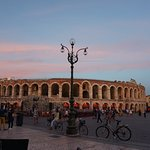 The sun goes down over the Verona Arena - July 2017