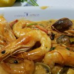 Home style prawns with mussels in a fantastic sauce!