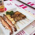 Crevettes grillées... délicieux
